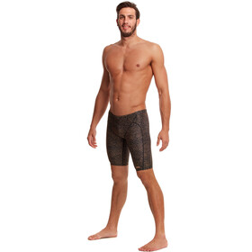 Funky Trunks Training Jammers Men leather skin